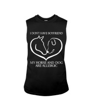 My Horse And Dog Are Allergic Sleeveless Tee thumbnail