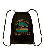 We Are Together Drawstring Bag thumbnail