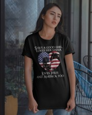 She Is A Good Girl Classic T-Shirt apparel-classic-tshirt-lifestyle-08
