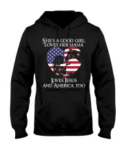 She Is A Good Girl Hooded Sweatshirt thumbnail