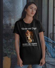 Horses And Dogs Classic T-Shirt apparel-classic-tshirt-lifestyle-08