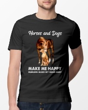 Horses And Dogs Classic T-Shirt lifestyle-mens-crewneck-front-13