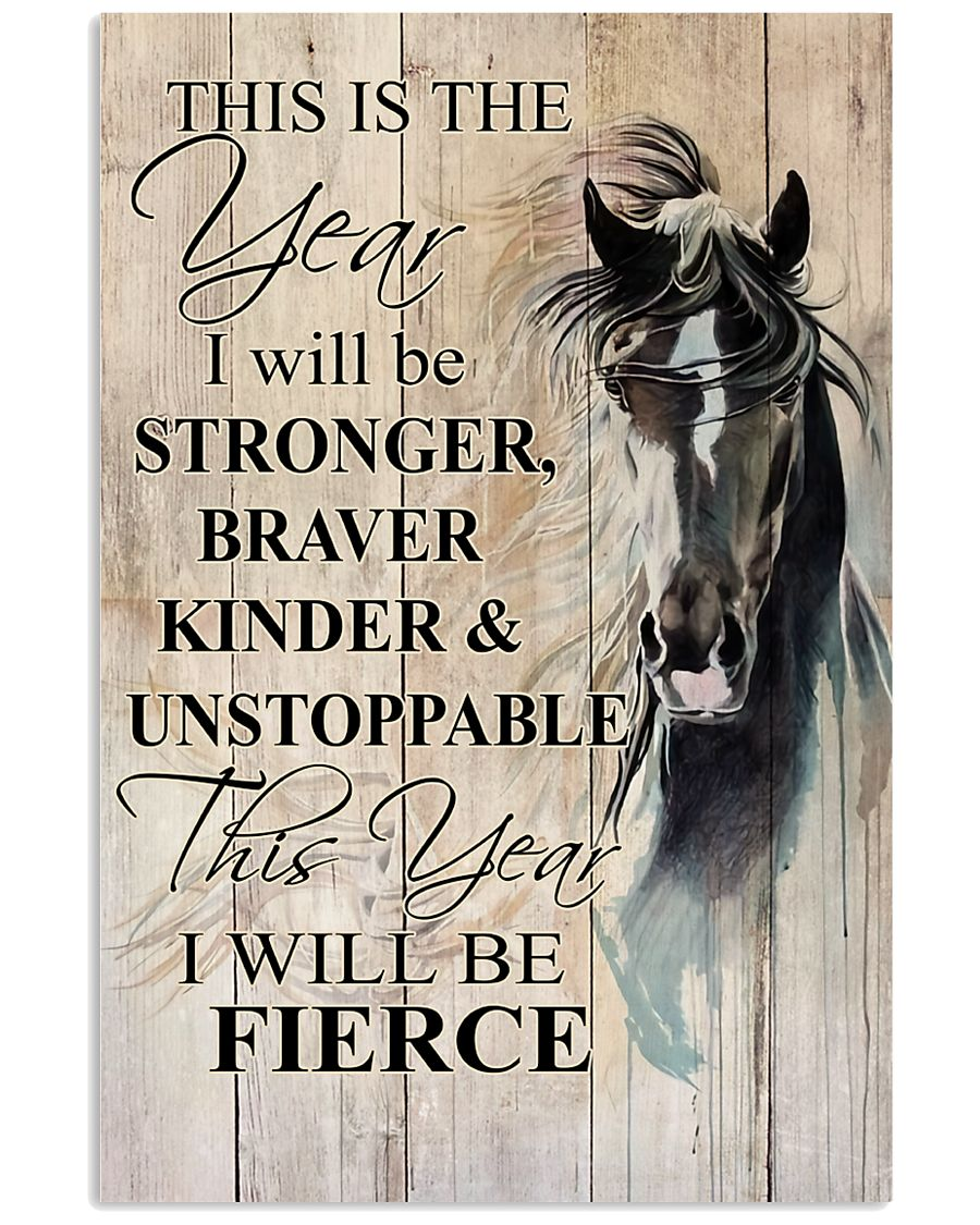I Will Be Stronger 11x17 Poster