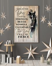 I Will Be Stronger 11x17 Poster lifestyle-holiday-poster-1