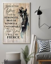 I Will Be Stronger 11x17 Poster lifestyle-poster-1