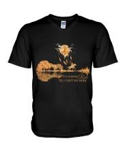 I'm Gonna Ride V-Neck T-Shirt thumbnail