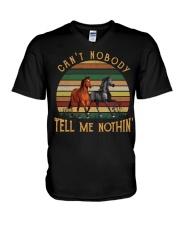 Can't Nobody V-Neck T-Shirt thumbnail