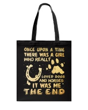 There Was A Girl Tote Bag thumbnail