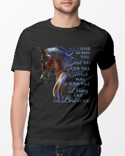 Some Horses Will Test You Classic T-Shirt lifestyle-mens-crewneck-front-13