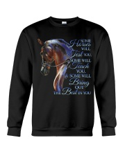 Some Horses Will Test You Crewneck Sweatshirt thumbnail