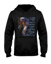 Some Horses Will Test You Hooded Sweatshirt thumbnail