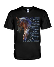 Some Horses Will Test You V-Neck T-Shirt thumbnail