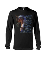 Some Horses Will Test You Long Sleeve Tee thumbnail