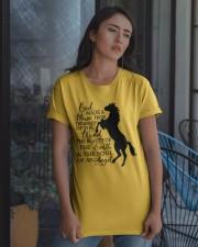 God Made A Horse Classic T-Shirt apparel-classic-tshirt-lifestyle-08
