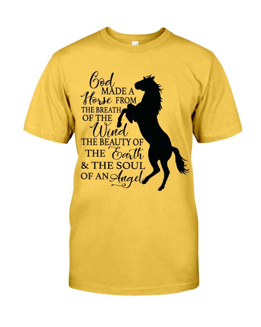 God Made A Horse Classic T-Shirt