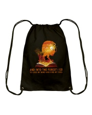 HR-L-24022010-And Into The Forest I Go Drawstring Bag thumbnail