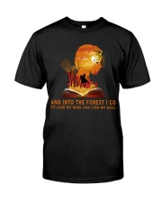 HR-L-24022010-And Into The Forest I Go Classic T-Shirt front