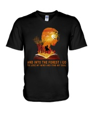HR-L-24022010-And Into The Forest I Go V-Neck T-Shirt thumbnail