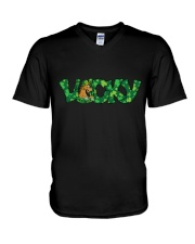 Lucky Horses V-Neck T-Shirt thumbnail