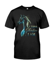 I Think Classic T-Shirt front