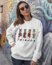 Friends Crewneck Sweatshirt lifestyle-unisex-sweatshirt-front-3