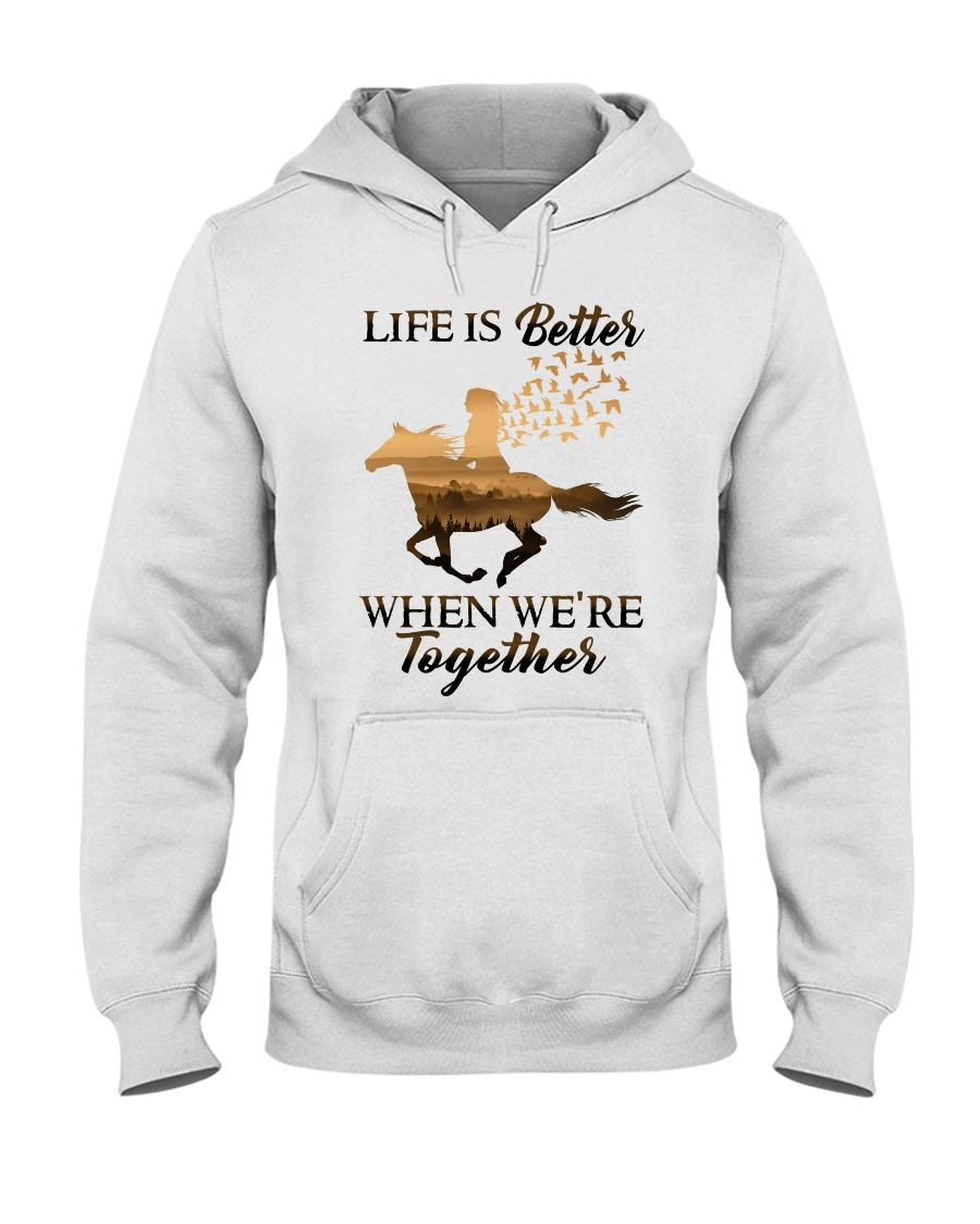 We Are Together Hooded Sweatshirt