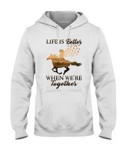 We Are Together Hooded Sweatshirt front