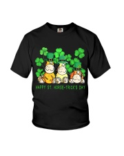 Happy St Horse Trick's Day Youth T-Shirt thumbnail