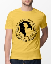 Forget Your Troubles Classic T-Shirt lifestyle-mens-crewneck-front-13