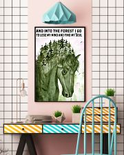 And Into The Forest I Go 11x17 Poster lifestyle-poster-6