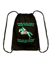 There Is No Force Drawstring Bag thumbnail