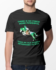 There Is No Force Classic T-Shirt lifestyle-mens-crewneck-front-13