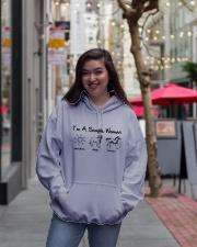 A Simple Woman Hooded Sweatshirt lifestyle-unisex-hoodie-front-2