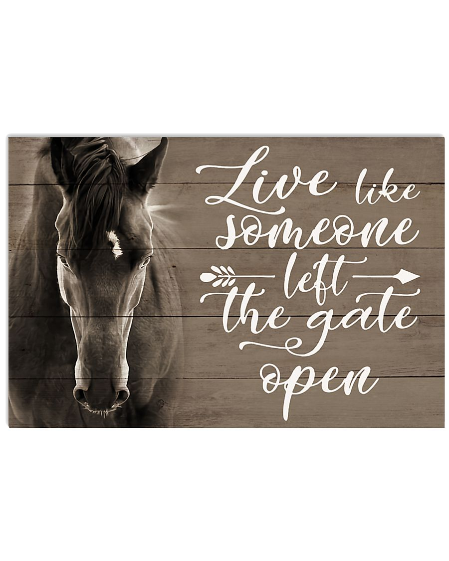 Live Like Someone 17x11 Poster