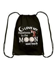 I Love My Appaloosa Drawstring Bag thumbnail