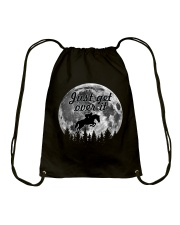 Just Get Over It Drawstring Bag thumbnail
