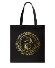 The Devil Whispered In My Ear Tote Bag thumbnail