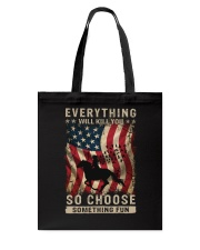Everything Will Kill You Tote Bag thumbnail