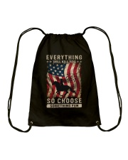 Everything Will Kill You Drawstring Bag thumbnail