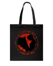 I Find My Self Tote Bag thumbnail
