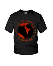 I Find My Self Youth T-Shirt thumbnail