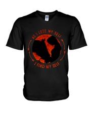 I Find My Self V-Neck T-Shirt thumbnail