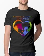 Boyfriend Is Allergic Classic T-Shirt lifestyle-mens-crewneck-front-13