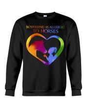 Boyfriend Is Allergic Crewneck Sweatshirt thumbnail
