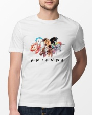 Horse Friends Classic T-Shirt lifestyle-mens-crewneck-front-13