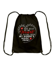 The Road To My Heart Drawstring Bag thumbnail