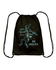 Be Broken Drawstring Bag thumbnail