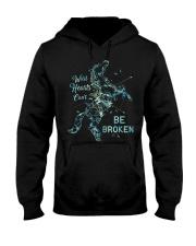 Be Broken Hooded Sweatshirt front