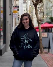 Be Broken Hooded Sweatshirt lifestyle-unisex-hoodie-front-2