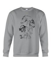 Love Horses Crewneck Sweatshirt front
